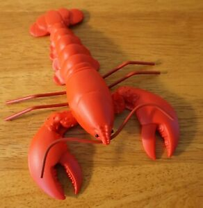 Red Lobster Figurine Nautical Tropical Tiki Bar Coastal Beach Home Decor NEW