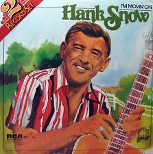 HANK SNOW I'm Movin' On - 2 LP set     SirH70