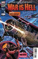 WAR IS HELL #1 MARVEL COMICS NEAR MINT 1/23/19 1ST PRINT