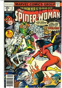 SPIDER-WOMAN 2 1978 VF+ SPECTACULAR ISSUE BRONZE AGE FREE UK POST