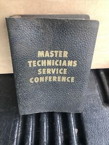 1953 Chrysler corporation Mopar master technicians service conference book