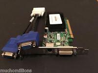 DUAL MONITOR VIDEO CARD ATI RADEON x1300 256MB ATX PCI-e 16x DUAL VGA CABLE