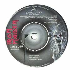 "Iron Maiden - Sanctuary - 7"" Vinyl Record"