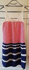 Coincidence Chance Urban Outfitters Small S Red white blue dress