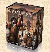 55 Rare Archery Books on DVD Longbow Crossbow Bow Construction Skills Methods B5