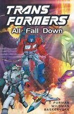 Marvel Comics 2001 TRANSFORMERS: ALL FALL DOWN Trade Paperback TPB NM G1 Titan