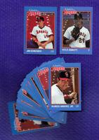 TWO 1989 QUAD CITY IOWA ANGELS GRAND SLAM 30 CARD SETS