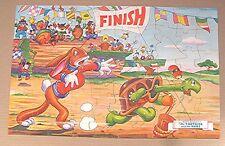 Vintage Walt Disney Jigsaw Puzzle - Tortoise & The Hare - Tiny Tots' Puzzle