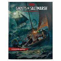 Calabozos y Dragones Fantasmas De Saltmarsh Libro de Tapa Dura