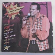 "33T Harry BELAFONTE Disque LP 12"" LIVE ON STAGE AT CARNEGIE HALL - RCA 7149"