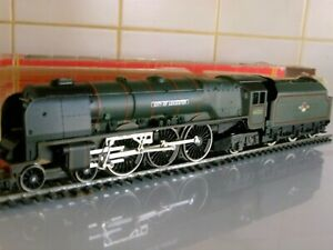 """""""City of Leicester"""""""" Coronation Class in excellent condition Boxed By Hornby"""