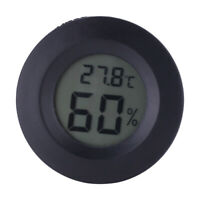 Digital Cigar Temperature Humidity Meter Hygrometer Room Indoor Thermometer
