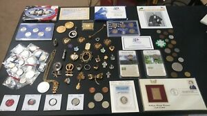 COIN LOT Estate Collection Old  Coins,☆TRINKET LOT,Mint,PROOF Coins,PCGS WWII