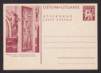 LITHUANIA 1940, Illustrated Postcard, Unused