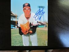 Jim Palmer Autograph / Signed 8x10 Photo Baltimore Orioles HOF 90