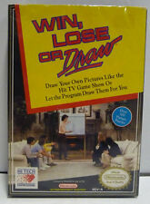 WIN, LOSE, OR DRAW - NES - NINTENDO USA NTSC BOXED