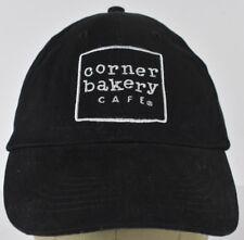 Black Corner Bakery Cafe Embroidered Baseball Hat Cap Adjustable Strap