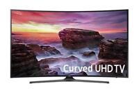 Samsung UN65MU6500FXZA Curved 65-Inch 4K UHD Smart TV with HDR Netflix YouTube