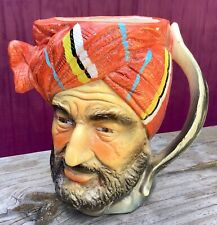 Sheik Head Cup Lawrence Of Arabia TILSO Japan Feather Handle Vintage $062009