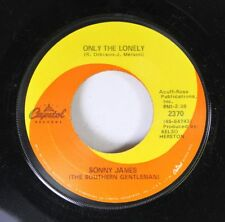 Country 45 Sonny James - Only The Loney / The Journey On Capitol Records