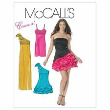 McCall's Patterns M6283 Misses' Lined Dresses, Size AA (6-8-10-12)