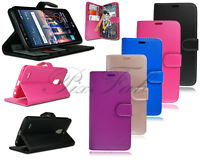 For LG Stylus 3 M400Y D690 LS777 / K10 Pro New Leather Wallet Phone Case + Glass
