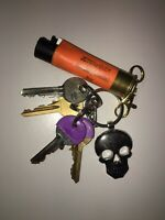 Keyring lighter holder fit for clipper never look or loose again men women smoke