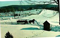 Vintage Postcard - The Salem Crofs Inn Olde Brookfield Mass MA Unposted #1912