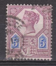 Great Britain nr 93 used Victoria 1887 VEILING oude POSTZEGELS ENGELAND