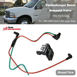 F81Z6C673AA For 1999-03 Ford F-450 Super Duty Turbocharger Boost Solenoid Valve