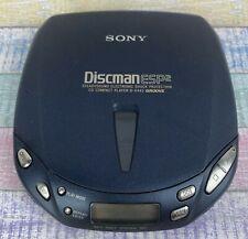 SONY D-E445 Discman Tragbarer CD-Player ESP2 Groove - RETRO - SELTEN RARITÄT TOP