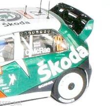 """NUOVO Scalextric w9264 SKODA FABIA il WRC """"COLIN MCRAE"""" ALA POSTERIORE SPOILER PER (C2645)"""