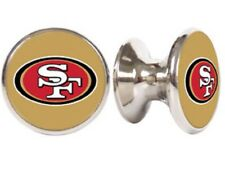 SAN FRANCISCO 49ERS NFL DRAWER PULLS / CABINET KNOBS