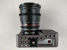 Blackmagic Pocket Cinema Camera with Cage and Canon EF to BMPCC T Speedbooster