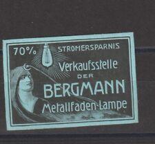 German Poster Stamp Lamp