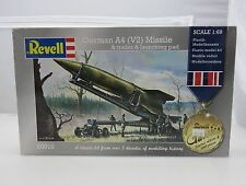 Revell #0010 GERMAN A4 (V2) MISSILE 1/69 Scale model kit new in the box