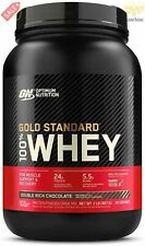 Optimum Nutrition Gold Standard 100% Whey Protein Powder, Double Rich Chocolate