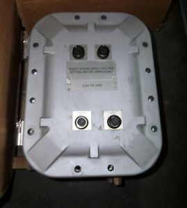 KILLARK HUBBELL EXB-8126234CNMOD 120/240 V EXPLOSION PROOF JUNCTION BOX #6