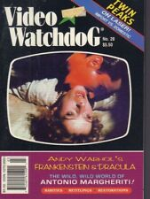 Video Watchdog no.28 Andy Warhol Antonio Margheriti 021318DBE