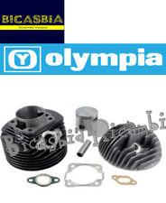 10036 - CILINDRO MOTORE DM 57 5 TRAVASI OLYMPIA VESPA 50 SPECIAL R L N A 130 CC