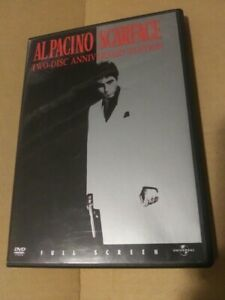 Scarface (DVD, 1983) - Full Screen - 2-Disc - Excellent Condition