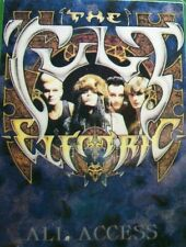 The Cult Electric Backstage Pass Original Hard Rock Music Vintage 1987 Tour