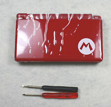 New Full Parts Shell Replacement Housing For Nintendo DS Lite NDSL  Red Mairo
