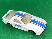 """Maisto 1/64 3"""" White Mazda RX-7 #33 Die-Cast Car"""