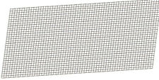 Motamec Stainless Steel Wire Radiator / Grille / Vent Mesh Woven Grill