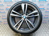 "BMW 3 4 Series Rear Alloy Style 442 M 19"" 8.5J Continental Tyre 4mm 7846781 *126"