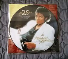 MICHAEL JACKSON Thriller Picture LP - SIGNED by DRUMMER, Ndugu Chancler!