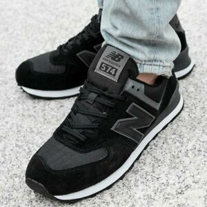 NEW BALANCE ML574ECF CLASSIC SHOES DARK BLACK ML574ECF