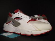 2001 NIKE AIR HUARACHE LE RUN WHITE RED COOL GREY OG 609020-161 NEW 11.5