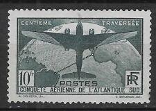 RARE YT N°321 TRAVERSEE ATLANTIQUE SUD NEUF avec GOMME* cote 375€ PAS D'AMINCI